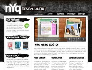 Стиль гранж в веб дизайне