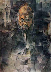 Пабло Пикассо. Портрет Амбруаза Воллара. 1910 г.