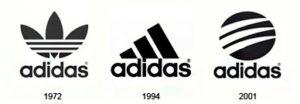 комбинированный логотип adidas