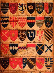 гербы средних веков