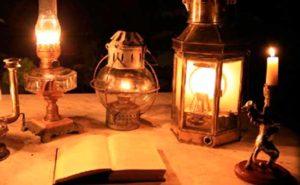 История света. Керосиновая лампа