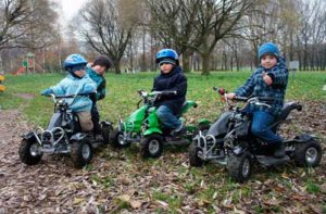 Детские автомобили с бензиновым двигателем