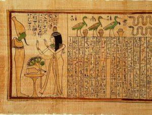 История бумаги в Египте
