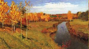 русский пейзаж. Левитан