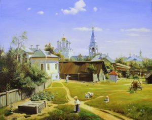 русский пейзаж Паленов