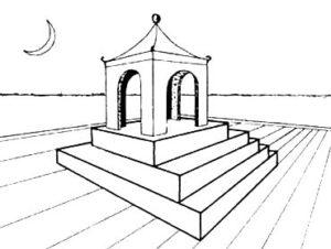 Обман зрения или оптические иллюзии. Невозможная лестница