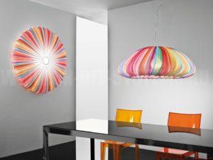 светильник в стиле поп-арт