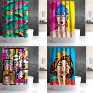 поп арт в интерьере ванной