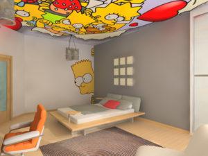 поп арт потолки