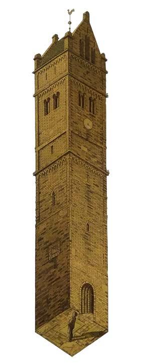 Обман зрения или оптические иллюзии. Башня Йорверта