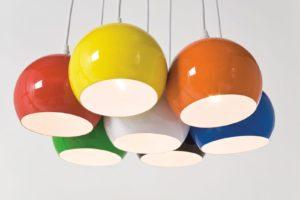 освещение в стиле поп-арт