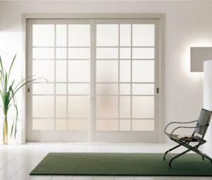 двери в стиле минимализм в интерьере