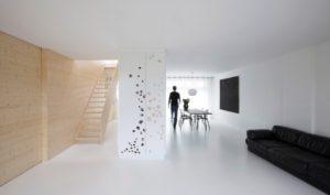 пространство стиля минимализма в интерьере