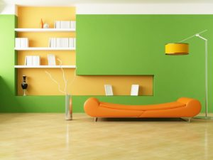стены в стиле минимализм в интерьере