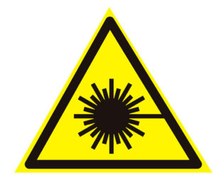 осторожно, лазерное излучение