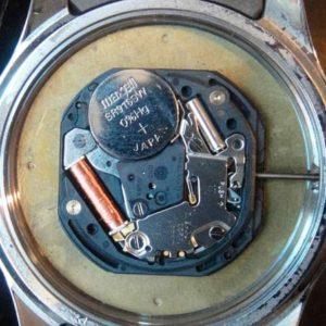 История часов. Батарейка