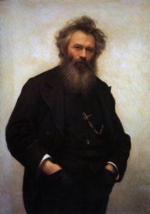 Крамской И.Н. - Портрет художника Шишкина 1880