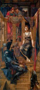прерафаэлиты. Э. Коли Берн-Джонс. Король Кофетуа и нищенка. 1884