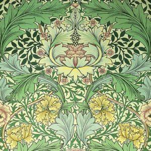 Теория дизайна. У. Моррис. Текстильный дизайн