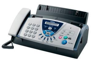 История телефона. Факс