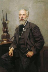 Н. Грандковский. Портрет Константина Апполоновича Савицкого. 1902 г.