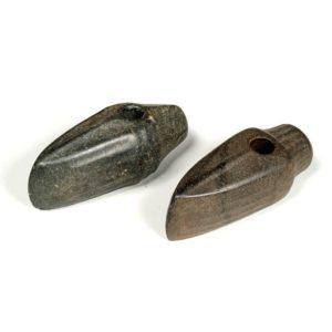 Сверленые топоры-молоты с каннелюрами. Калмыкия