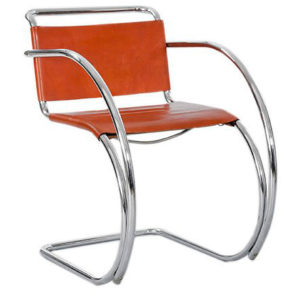 Теория дизайна. мис ван дер роэ. кресло