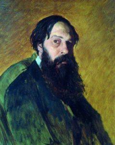 Перов В. Г. Портрет художника А.К.Саврасова