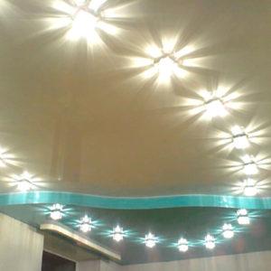 Свет в интерьере.Точечные светильники