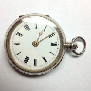 Теория дизайна.Английские карманные серебряные часы 19-го века