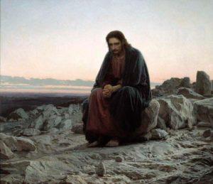 Художники-передвижники. Крамской. Христос в пустыне