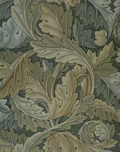 У. Моррис. Morris-Обои с лиственным орнаментом