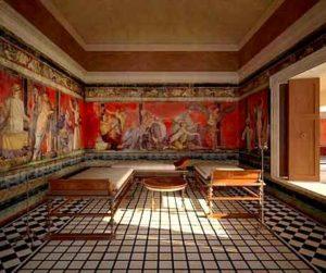 Вилла Мистерия в Помпеях