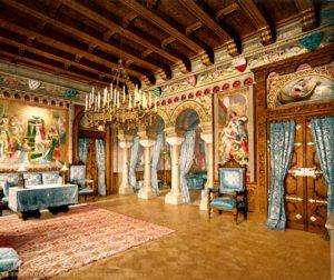 Классические стили в интерьере. Замок Нойшванштайн