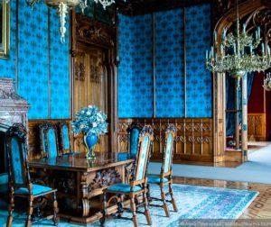 Классические стили в интерьерах. Замок Леднице