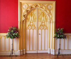 Классические стили в интерьерах. Замок Стробери Хил