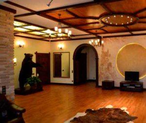 Классические стили в интерьере. Гостиная в романском стиле.
