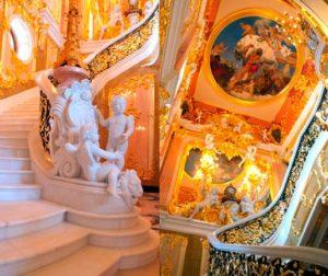 Классические стили в интерьере. Золотой дворец под Санкт-Петербургом