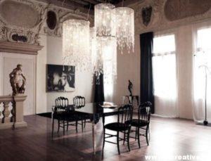 Классические стили в интерьере. Гостиная в готическом стиле