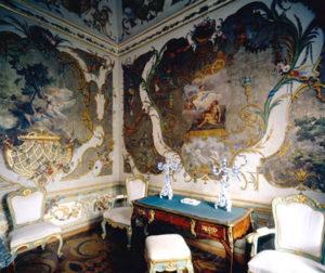 интерьер Китайского дворца в Ораниенбауме.