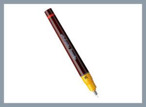 Капиллярная ручка или рапидограф.